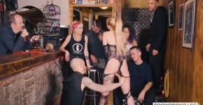 CrowdBondage Helena Valentine tiny pussy Domination cum in mouth with Helena Valentine, rococosid
