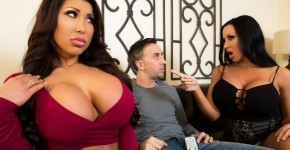 Brazzers - Сaring Exchange Of  Housewives August Taylor And Sybil Stallone , Brazzers