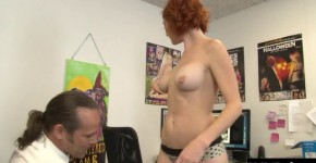 Audrey Hollander has a set of holes that need to be stretched on, Teeenamg45