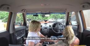 Katy Jayne Busty Blonde Failed test leads to back seat sex FakeDrivingSchool, Laianenane