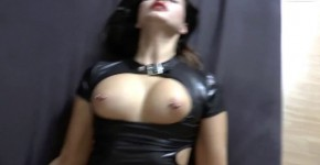 dressed in latex and fucked, jorajara