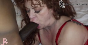 Fellatio Master deep gulp from a plump girl Slim Poke, bondagelike