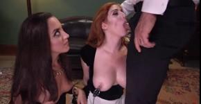 Derrick Pierce Roxanne Rae and Lauren Phillips Bondage Submission Domination Humiliation porn, londonbaxxx