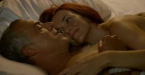 Mesmerizing Redhead Annie Wersching nude Bosch s01e02 2014, rerichel