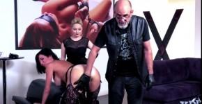Sophia Locke and Kira Noir dancing with big Tits, perlomar
