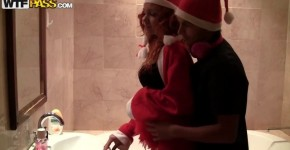 Russian Drunk Christmas orgy in bathroom, stockupp