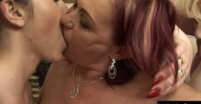 Yolanda is a blonde granny with a huge set of tits, and her, Teeenag45