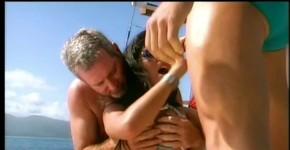 stunning latin slut strips on boat, stikilokorro