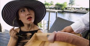 Sexy chick Tiffany Rain gets gets hard fucks by huge cock outdoor, SexyKimmy9