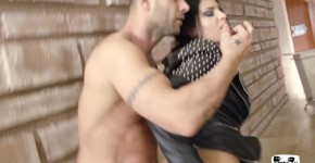 PorndoePremium Hot Serbian brunette Annie Wolf takes brutal anal in hot roughed up fuck, Rorilika