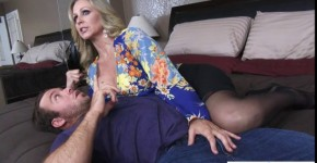 Hottest Blonde MILF Julia Ann On Action With Young Man, life4style