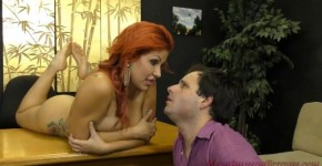 Savana Styles red haired beast moves on his cock MeanAmazonBitches, Polupoluploy