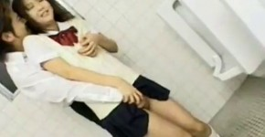 Japan Couple In Batheroom, heringeng